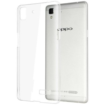 Harga Softcase Ultrathin for OPPO R7 - White clear