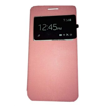 ... Ume Smartfren Andromax R Flip Shell Flip Cover Leather Case Sarung HP