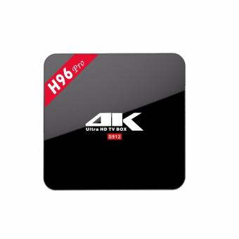 Harga Android TV Box H96Pro (3GB/16GB) Octa-Core Amlogic S912 64bit Android 6.0 BT4.0 Smart TV Box 4K media player - intl