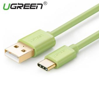 Harga UGREEN USB to Type C Data Sync Charger Cable (1m) Green - Intl