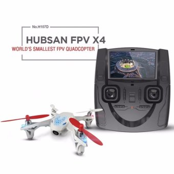 Harga Hubsan FPV X4 Mini Drone Quadcopter with Camera - H107D
