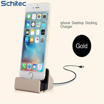 Harga New Cellphone Desktop Docking Charger Sync Data Charging Dock Station USB Cable Fast Charging For iPhone 7 6s Plus 5 5S 5C SE - intl