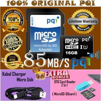 Original Sandisk Ultra 48mbps Microsdhc 32gb Gratis Anti Virus Mc Source · Harga PQI Memory Card