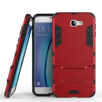Harga Case Iron Man for Samsung Galaxy On 7 2016 / On7 Robot Transformer Ironman Limited - Merah