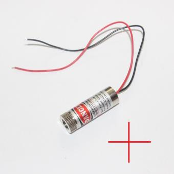 4Pc Adjustable Red 5mW 650nm Cross Laser Module Focus Head Industrial Grade - intl