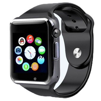 Harga Smart Smart Watch A1 Model - Hitam