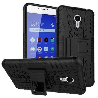 Harga Fashion Shockproof Cell Phone Case Cover With Stand Holder for Meizu M3 Note3 Black - intl