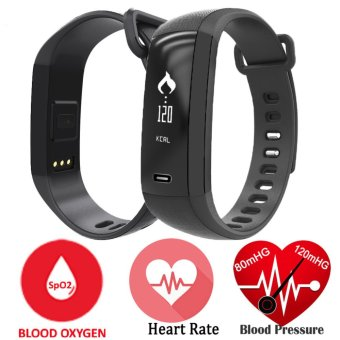 Harga M2 Smart Band Heart Rate Monitor Blood Pressure Pulse Meter Bracelet Fitness Smartwatch Smartband for iOS Android Phone - intl