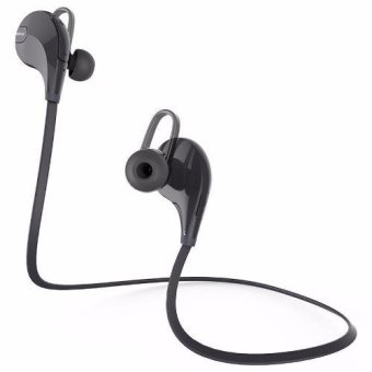Harga Mini Gym Sport Bluetooth Earphone with Microphone - QY7 - Hitam