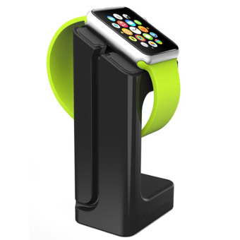 Harga Vococal Watch Charging Dock Display Stand Holder for Apple Watch Sport Edition iWatch 38mm 42mm (Black)