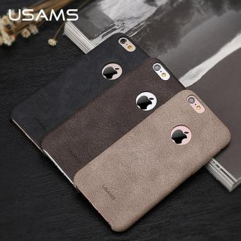 USAMS Bob Series PU Leather 4.7 Inch Back Cover Case for IPhone 6/6s - intl