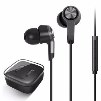 EAR HANDSFREE MIC REMOTE SUPER BASS HITAM. Source · Headset Earphone Xiaomi .