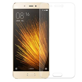 Vn Tempered Glass 9H For Xiomi Mi 5 3G 2D Round Curved Edge Screen Protector 0.33