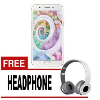 ... Oppo New F1S Smartphone RAM 4 ROM 64 GB Gold Free Headphone