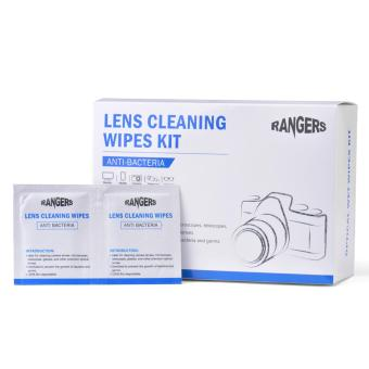 Harga Rangers 100 Pre-Moistened Lens Wipes Ideal Glasses Camera Cleaning Wipes RA102 - intl