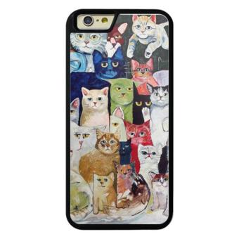 Harga Phone case for iPhone 6/6s 009 60 cats cover for Apple iPhone 6 / 6s - intl
