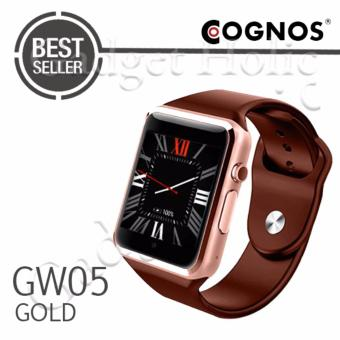 Harga Cognos Smartwatch GW05 - 3G WIFI Android 4.4 - Gold