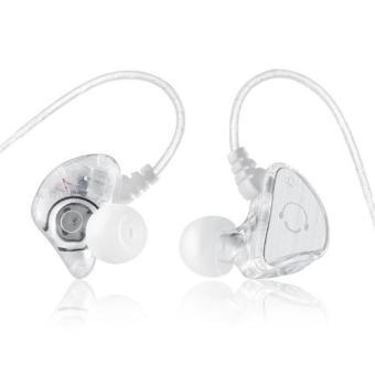 Olahraga asli Super Bass headphone di telinga headphone stereo headset dengan mikrofon pita penahan keringat untuk