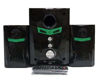 Harga GMC 888D1 Multimedia Speaker Subwoofer - Hitam