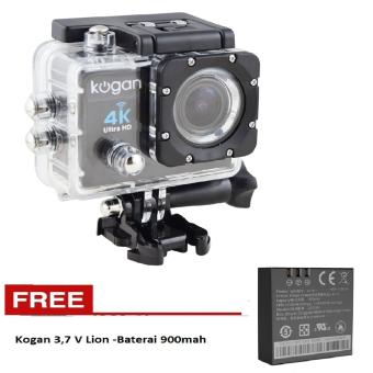 Harga Kogan Action Camera 4K UltraHD - 16MP - Hitam- - WIFI -Free Baterai Kogan