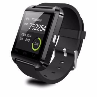 Harga I-One U8 Smartwatch For Android And IOS - Hitam
