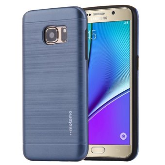 Harga MOTOMO For Samsung Galaxy Note 5 N920 Brushed Texture Metal TPU Protective .