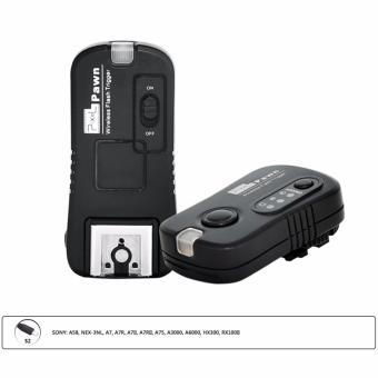 Harga Pixel Pawn TF-365 Flash Trigger Shutter Remote Control 2.4GHz 16 Channels for SONY MI Hotshoe Interface A58 NEX-3NL A7 A7R A3000 A6000 HX300 HX50 RX100M2 HX400 HX60 RX100II DSLR Cameras - intl