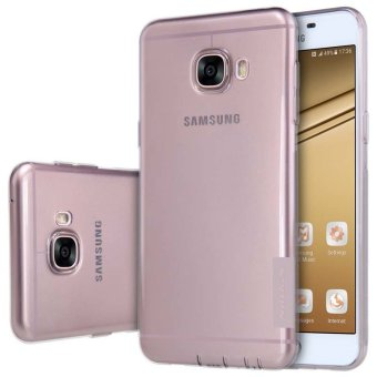 Harga Nillkin Ultra Thin Soft TPU Silicon Back Case for Samsung Galaxy C5 / C5000 (Grey) - intl