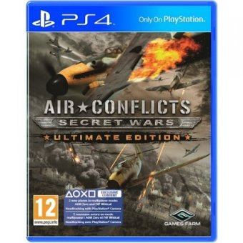 Harga Sony PS4 Air Conflicts : Secret Wars Ultimate Edition Reg 2