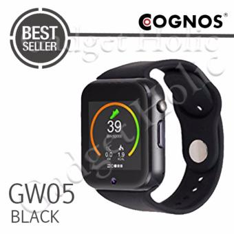 Harga Cognos Smartwatch GW05 - 3G WIFI Android 4.4 - Hitam