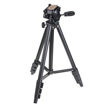 Harga Yunteng Portable Lightweight Tripod Video & Camera - VCT-681 - Hitam