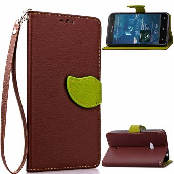 Stan membalik penutup kasus untuk Nokia Lumia 625 (Coklat)