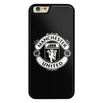 Harga Phone case for iPhone 6Plus/6sPlus Manchester United Black Logo cover for Apple iPhone 6 Plus / 6s Plus - intl