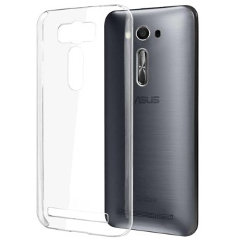 Harga Softcase Ultrathin for Asus Zenfone 2 Laser ZE500KL - White clear