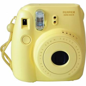 Harga Fujifilm Instax Polaroid Camera Mini 8S - Yellow