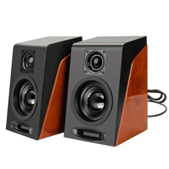 Harga MiNi Subwoofer Restoring Ancient Ways Desktop Small Speakers - intl