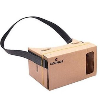 Harga Cognos VR Box Google CardBoard with headband