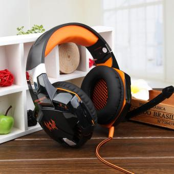 KOTION EACH G2000 Over-ear Game Headset Earphone Headband w/ Mic Stereo Bass for