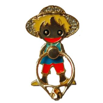 Harga Best Seller Ring Stand One Piece - Gold