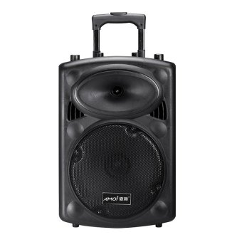 Harga Speaker Out Door + Wireless Mic Stereo - Black