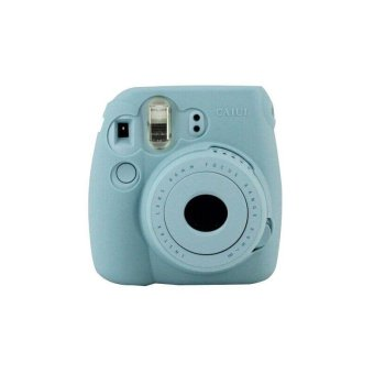 Harga Noctilucent Camera Case Skin Cover For FUJIFILM Instax Mini8 Mini8s Blue - intl