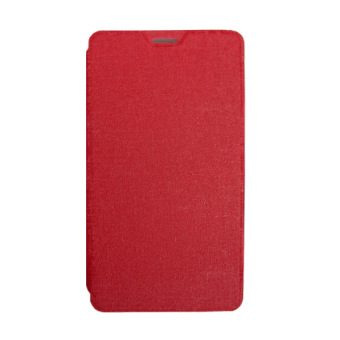 Harga Dyval advan Flip Cover for i45 - Merah