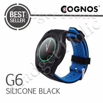Harga Cognos Smartwatch G6 - Heart Rate - Silicone Hitam
