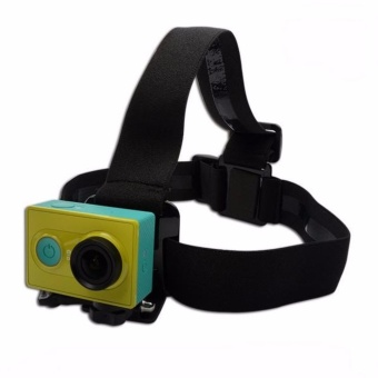Harga Head Strap with Simple Anti-Slide Glue For Xiaomi Yi / Xiaomi Yi 2 4K / GoPro / Brica Bpro / SjCam / Kogan