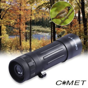 Harga COMET 10 x 25 Outdoor Hiking Hunting Camping Mini Monocular Telescope - intl