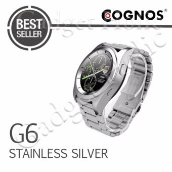 Harga Cognos Smartwatch G6 - Heart Rate - Stainless Silver