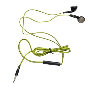 Harga MSH 300 Original Handsfree / Headset / Earphone (Green) For All Type Phone