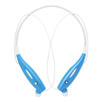 Harga HBS-730 Wireless Bluetooth Sport Stereo Headset (Blue) - intl