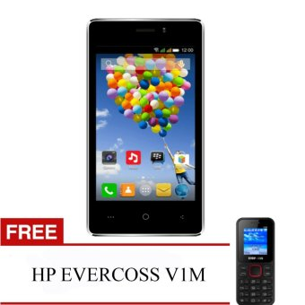 Harga Evercoss A74A Winner T - RAM 1GB + FREE HP EVERCOSS V1M