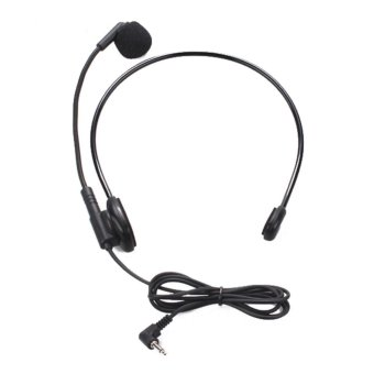 Harga Head-mounted Headset Microphone Flexible Wired Boom Amplifier - intl